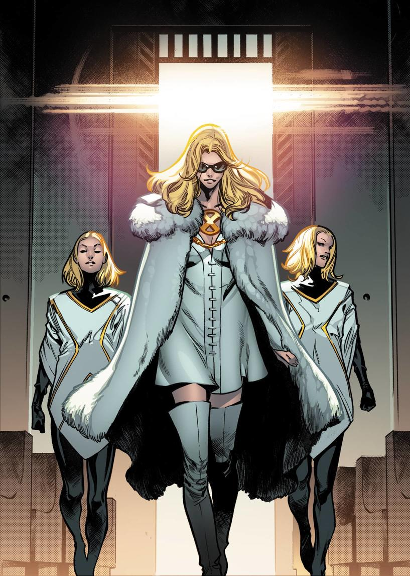 HOUSE OF X #3 interior art by Pepe Larraz and Marte Gracia