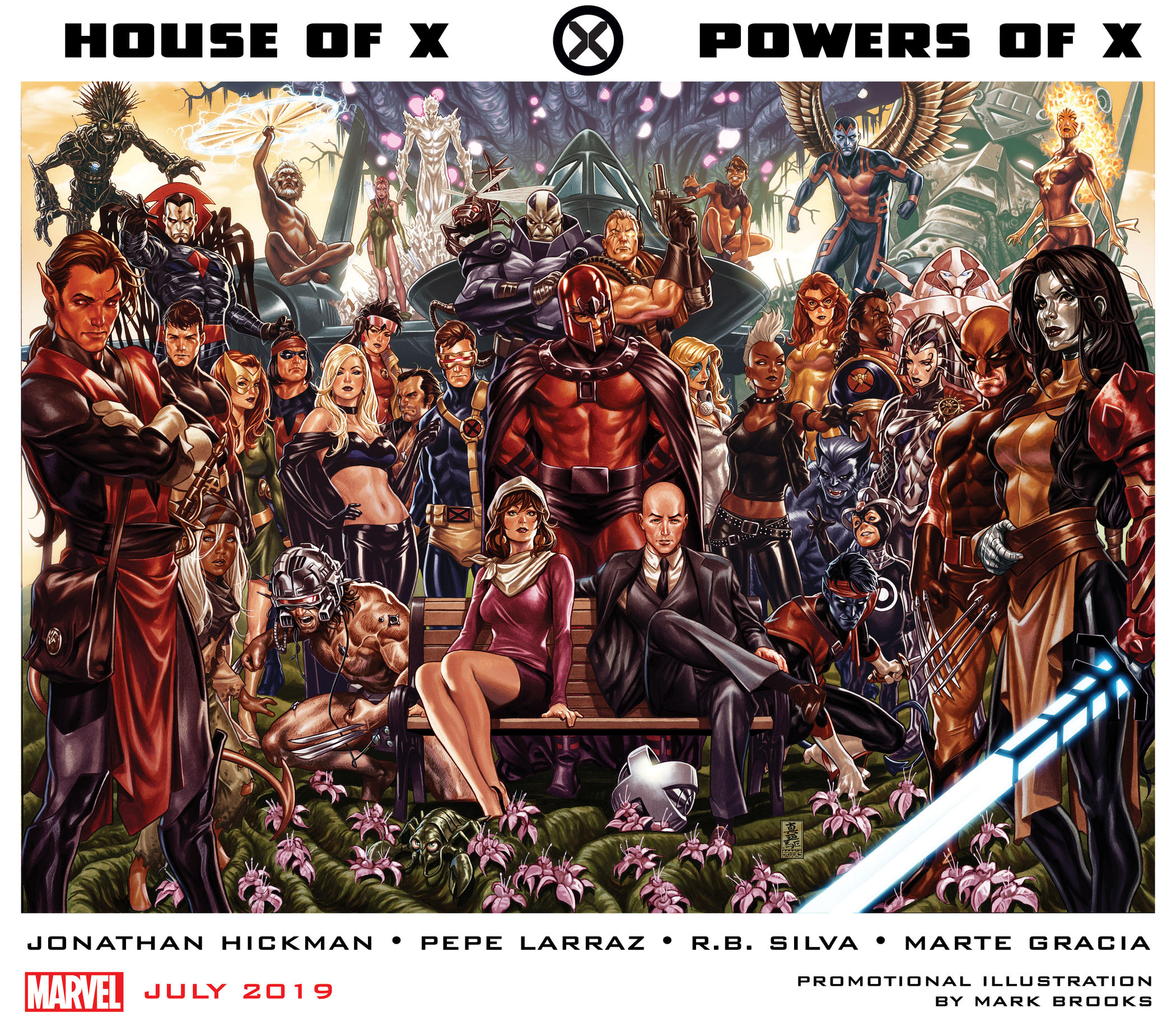 HOUSE OF X and POWERS OF X