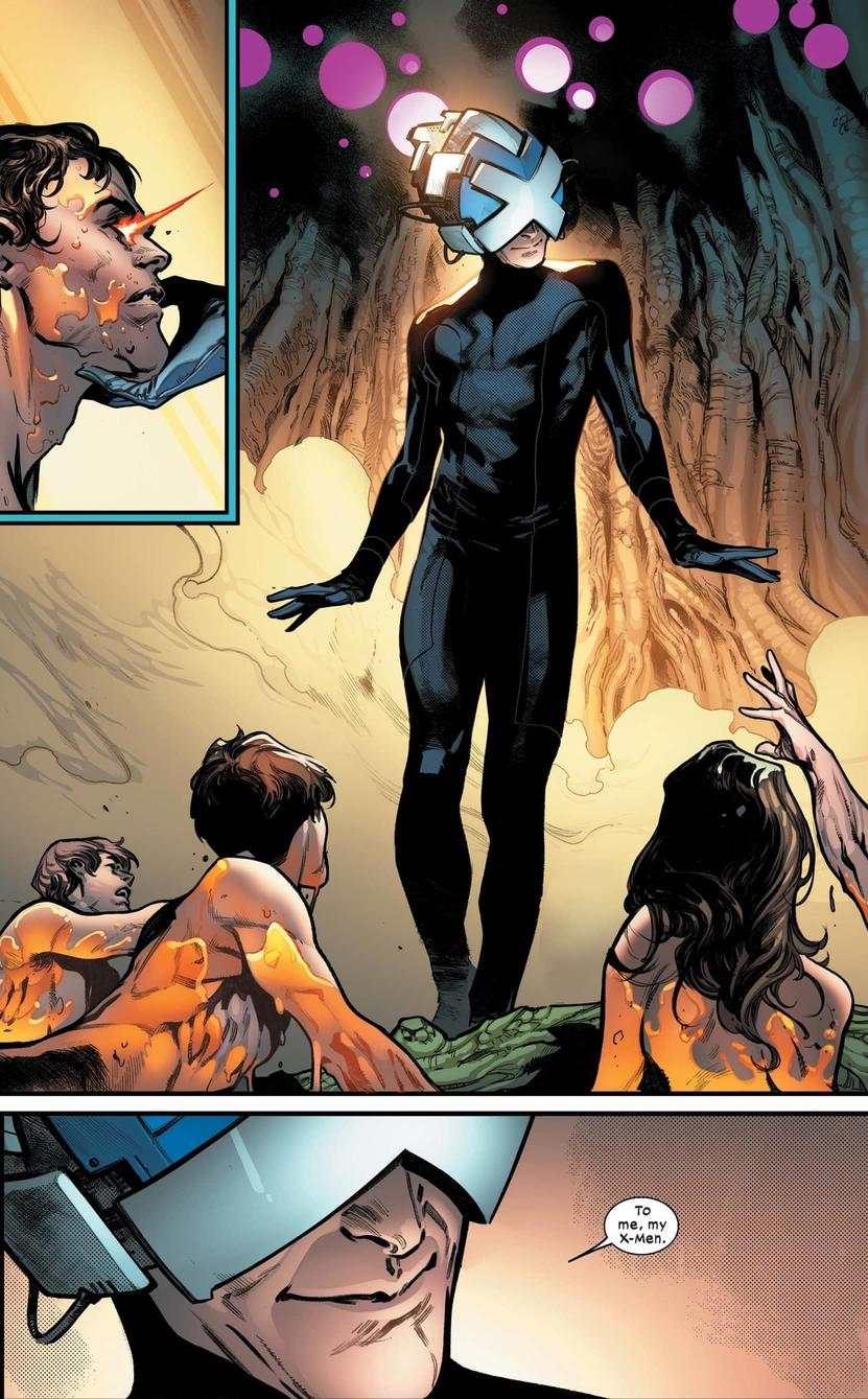 The new status quo of mutantkind in HOUSE OF X #1.