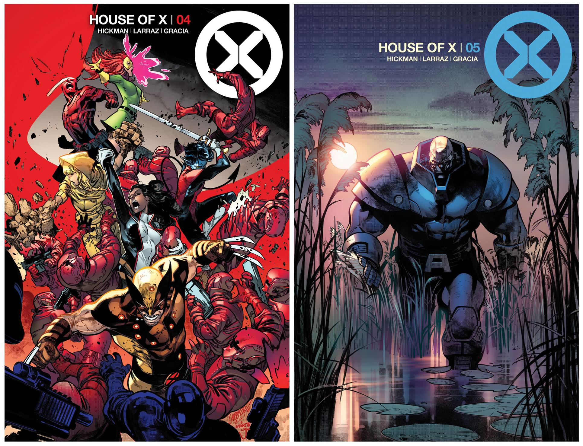HOUSE OF X #4 AND #5