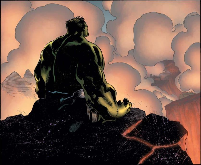 Hulk alone
