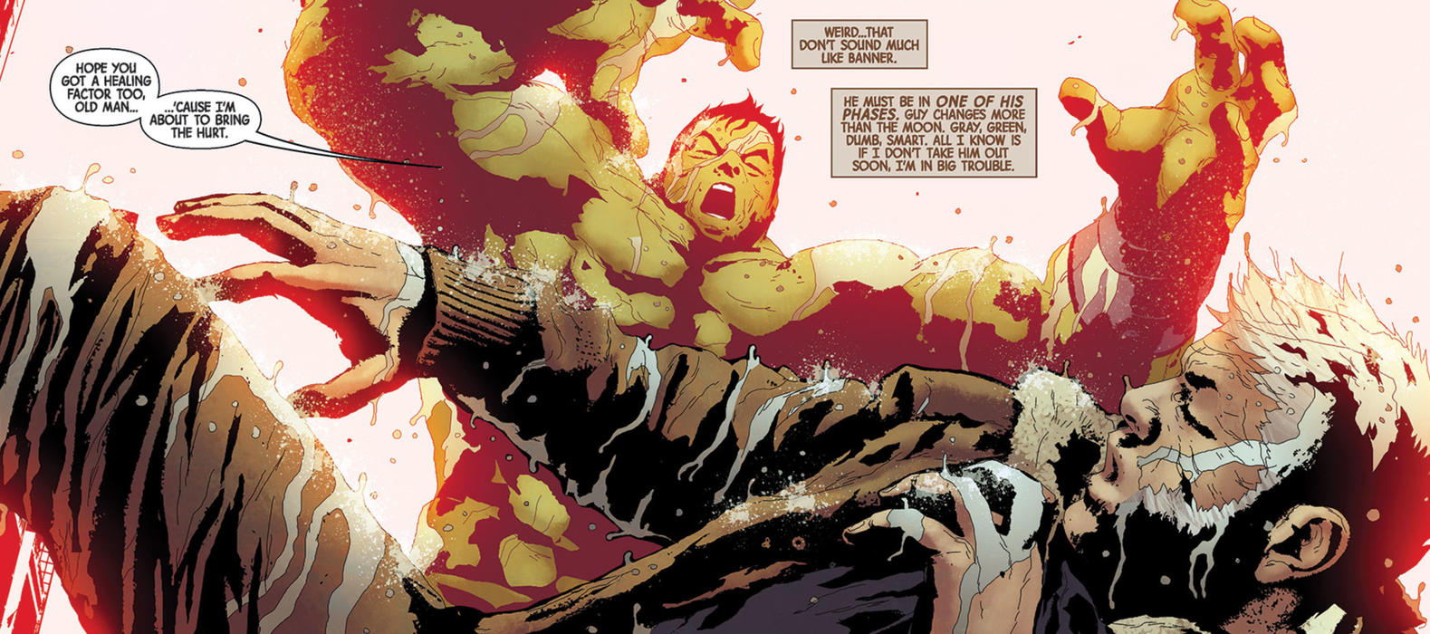 Amadeus Cho vs Old Man Logan