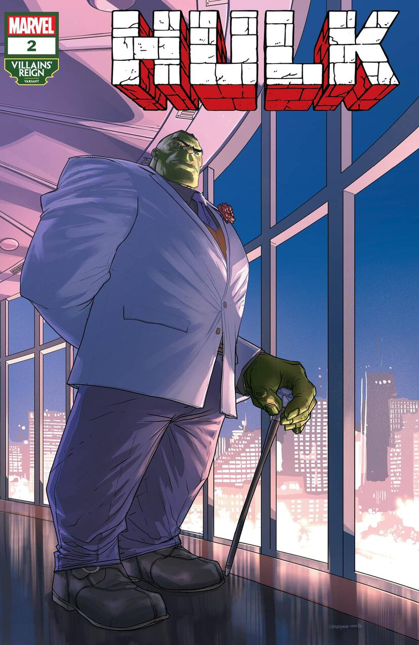 HULK #2 Villains' Reign Variant Cover by Pete Woods