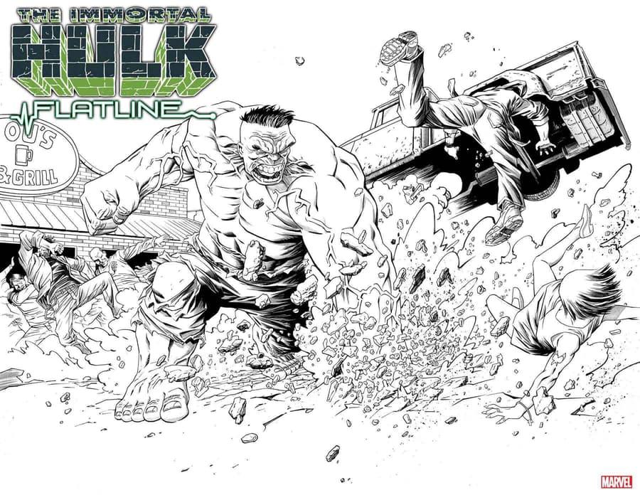 Immortal Hulk Flatline