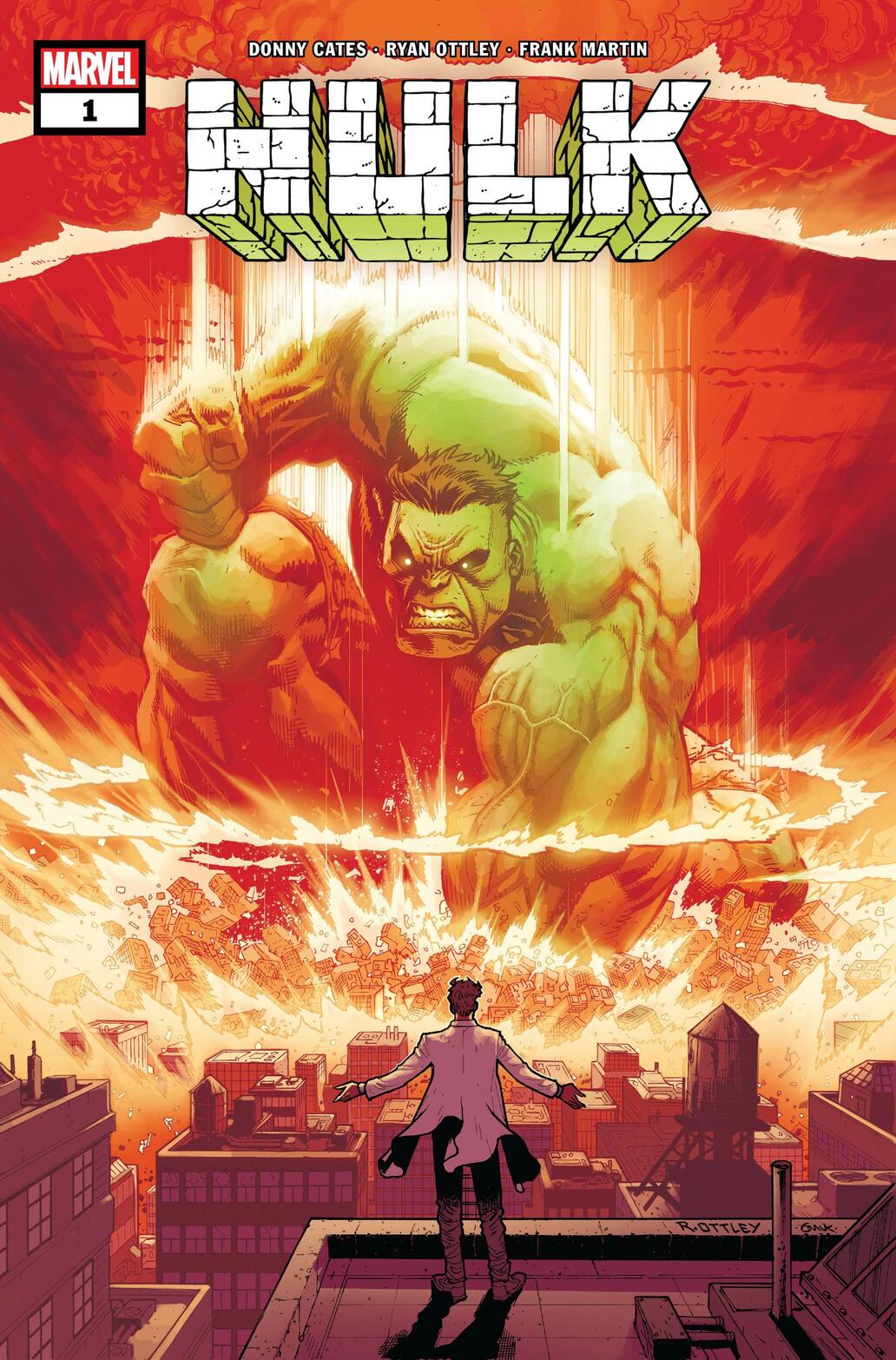 Cover to HULK (2021) #1 by Ryan Ottley.