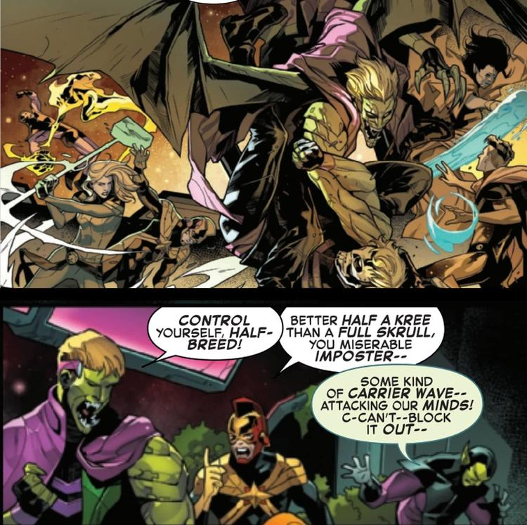 The Hulkling Imposter