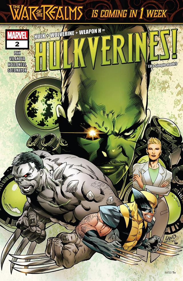 Hulkverines #2 cover