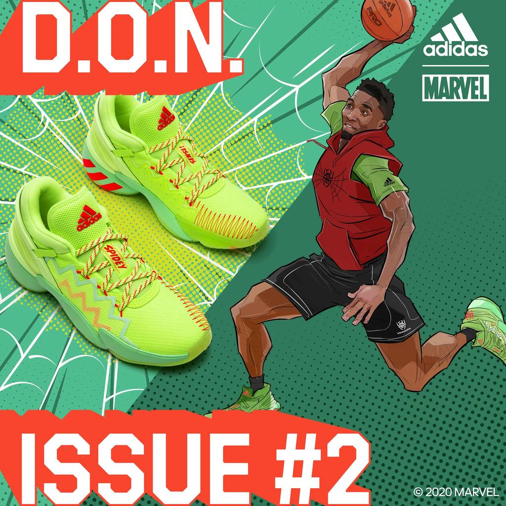 Adidas Reveals New Marvel D.O.N Issue 2