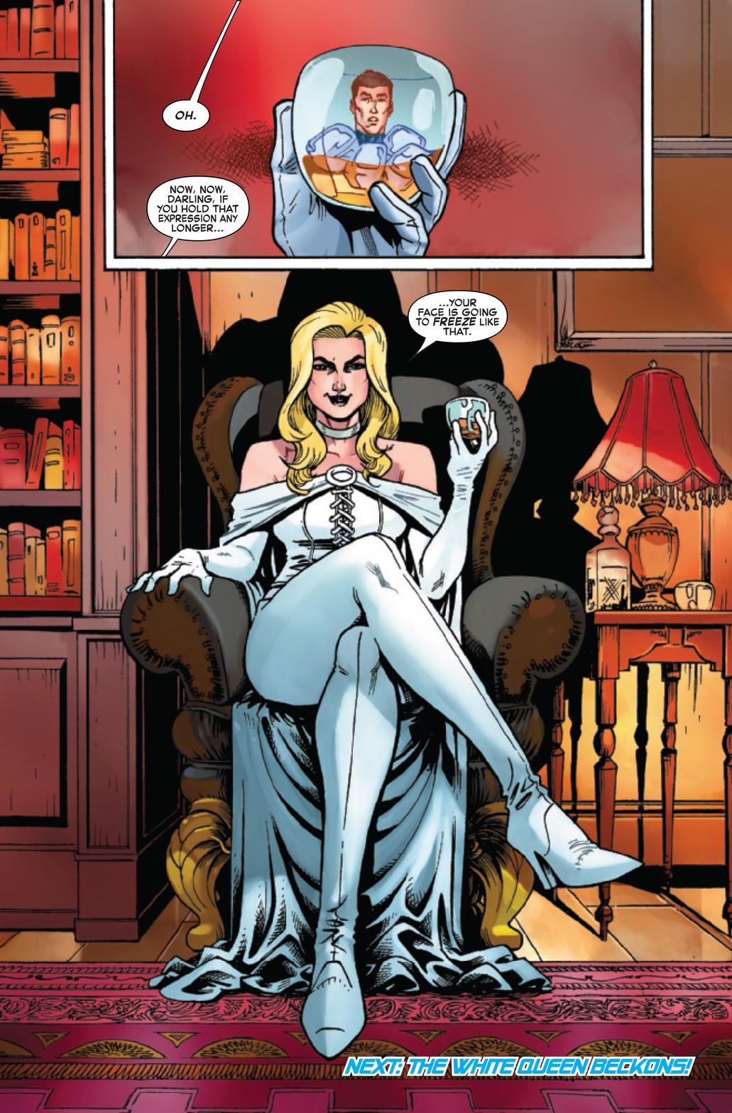 Emma Frost in Iceman