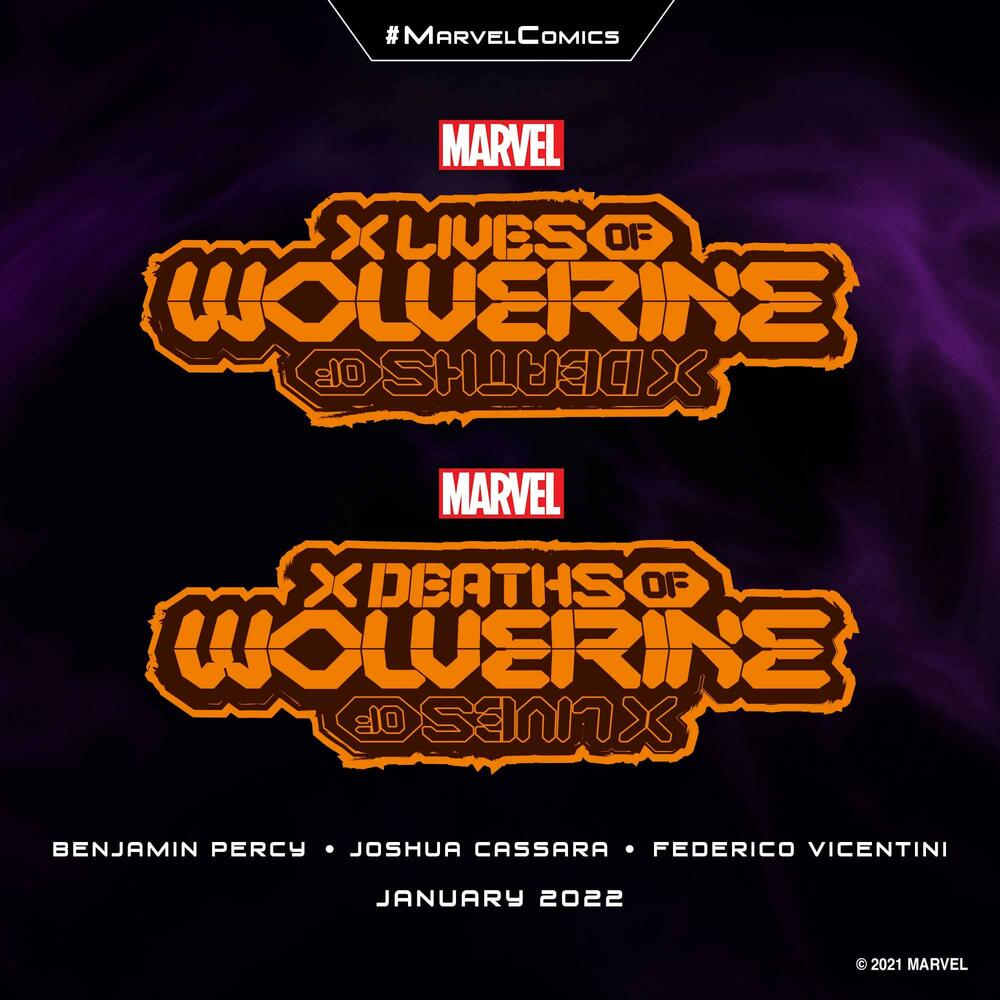 'X Lives of Wolverine' and 'X Deaths of Wolverine'