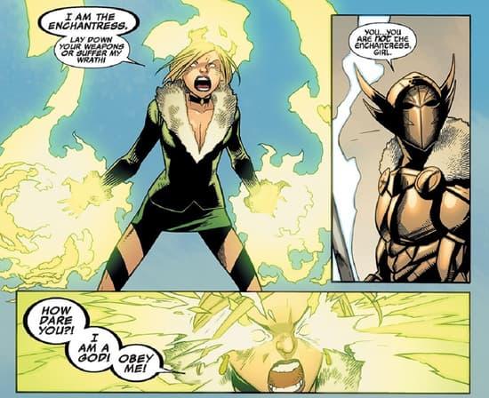Sylvie flexes her god-like power in ILLUMINATI (2015) #5.
