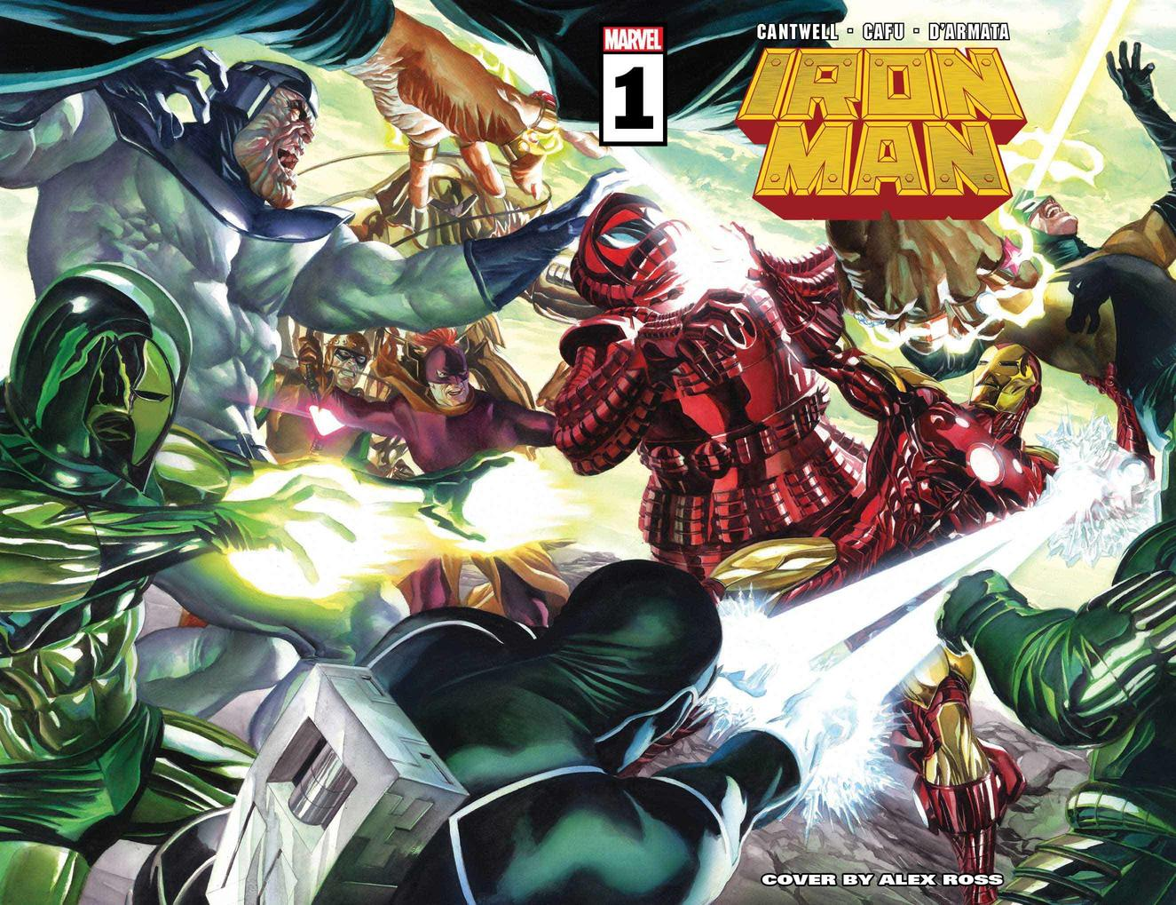 The Armored Avenger Goes Back to Basics in New 'Iron Man' Series This Fall  | Marvel