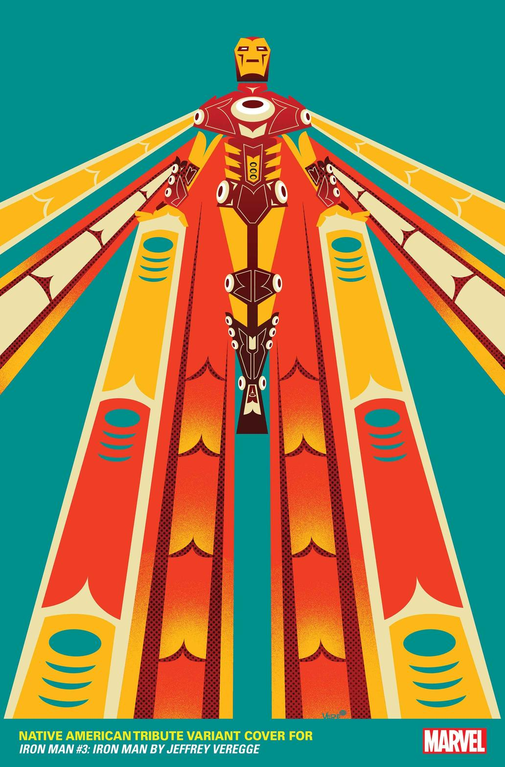 Native American variant by Jeffrey Veregge