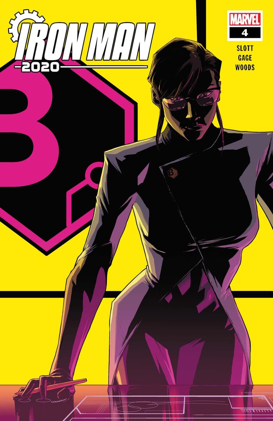Iron Man 2020 #4 Main Cover