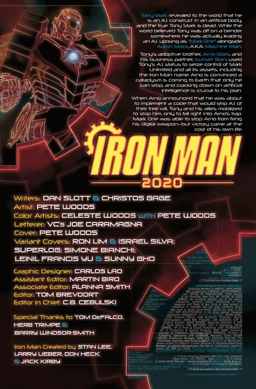 IRON MAN 2020 #4 recap