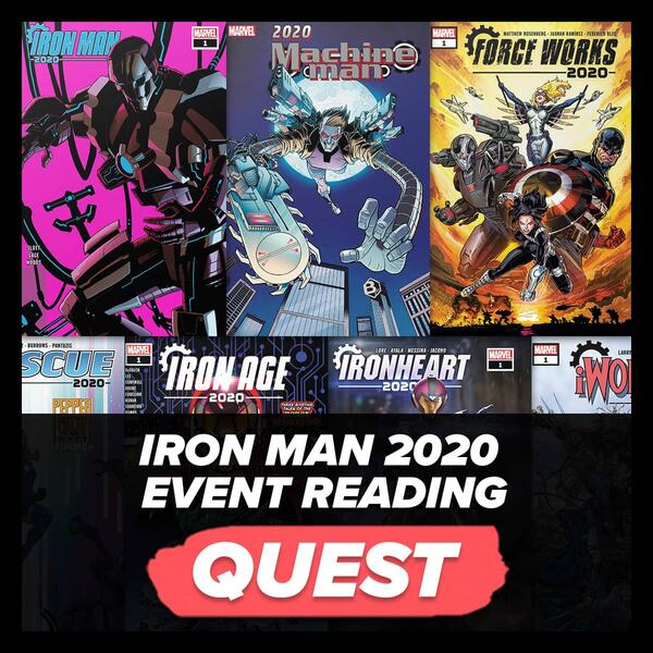 Marvel Insider Iron Man 2020 Reading Quest Read all 7 Iron Man 2020 issues on Marvel Unlimited