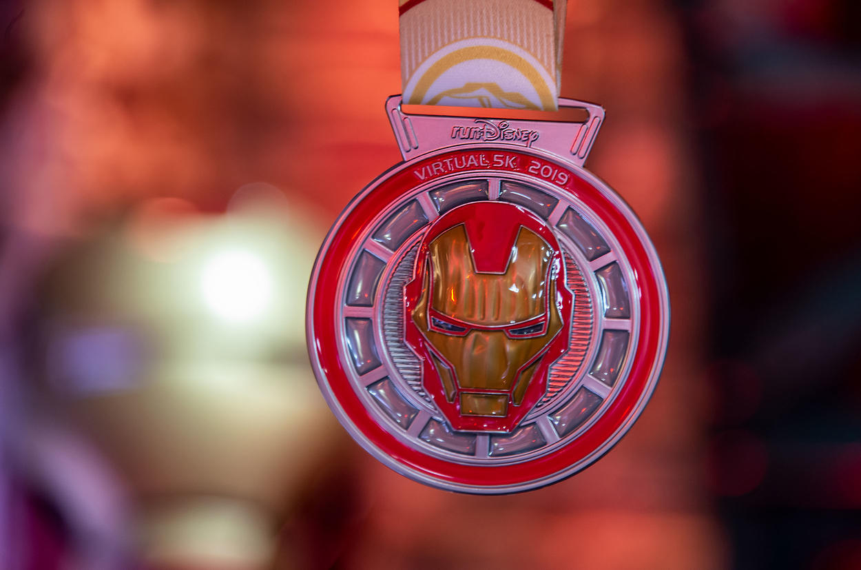 Iron Man RunDisney Medal