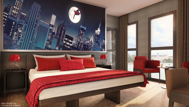 Disney's Hotel New York – The Art of Marvel in Paris