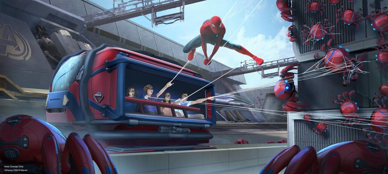 Spider-Man Attraction