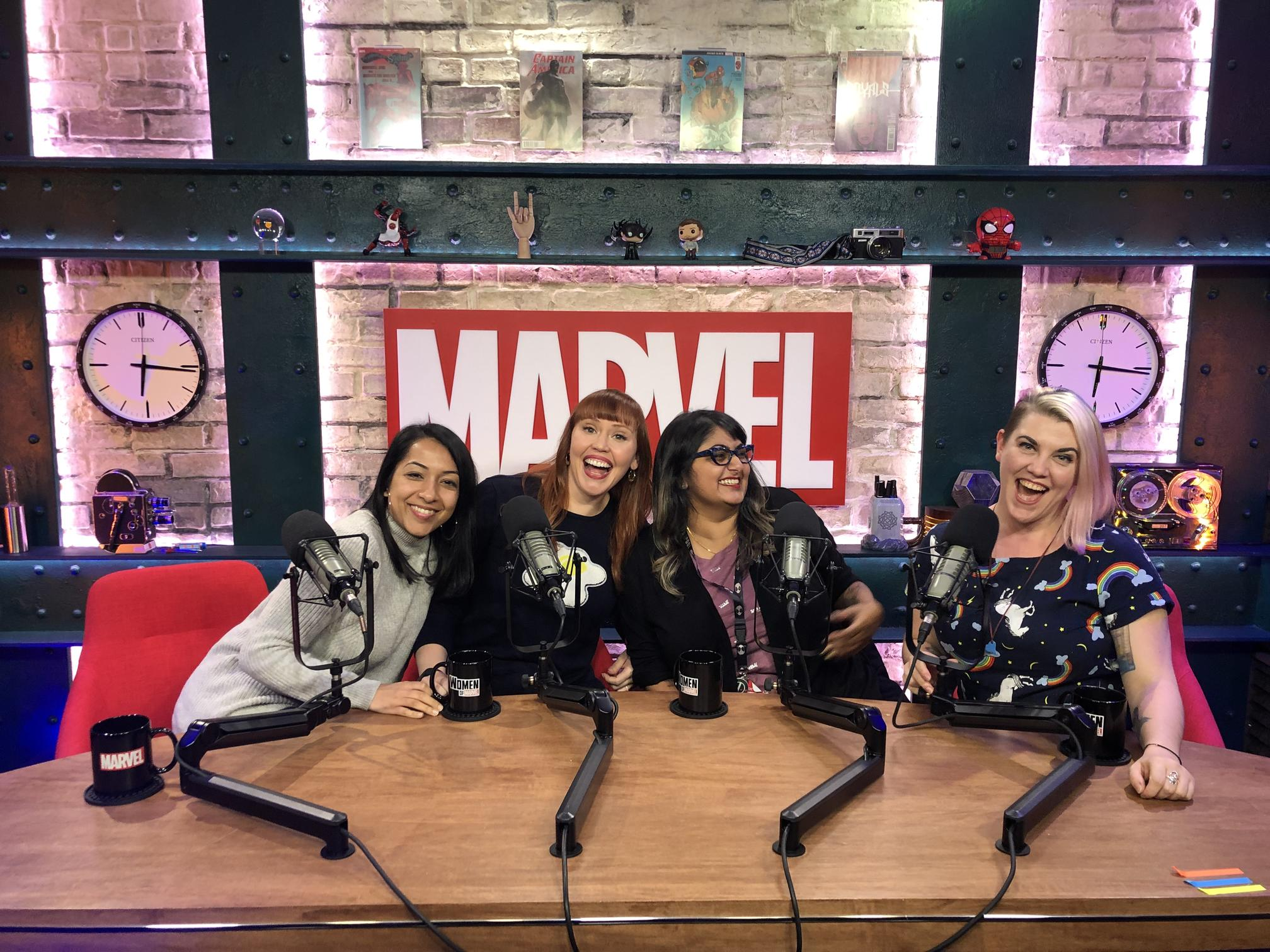 Women of Marvel with Lorraine Cink and Preeti Chhiber
