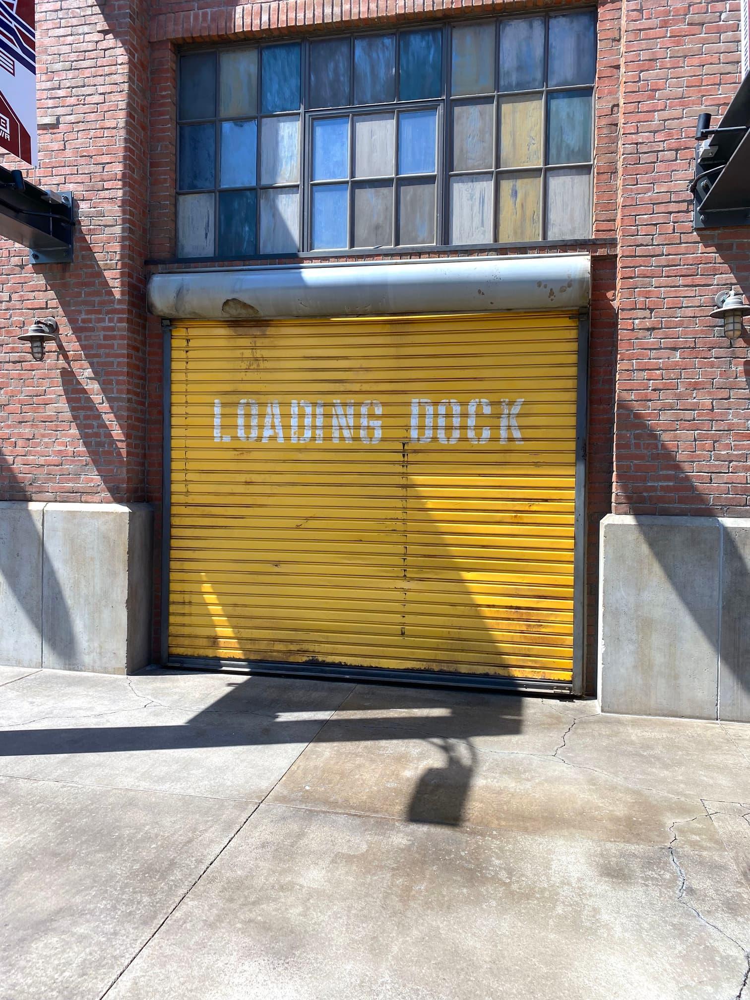 web loading dock