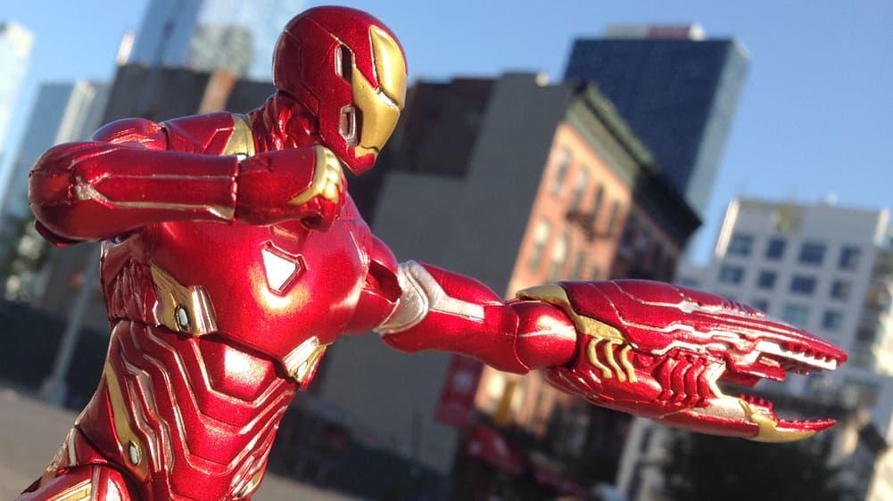 Avengers Infinity War Iron Man Iironman Marvel Comics 2018 Action Figure Toy for