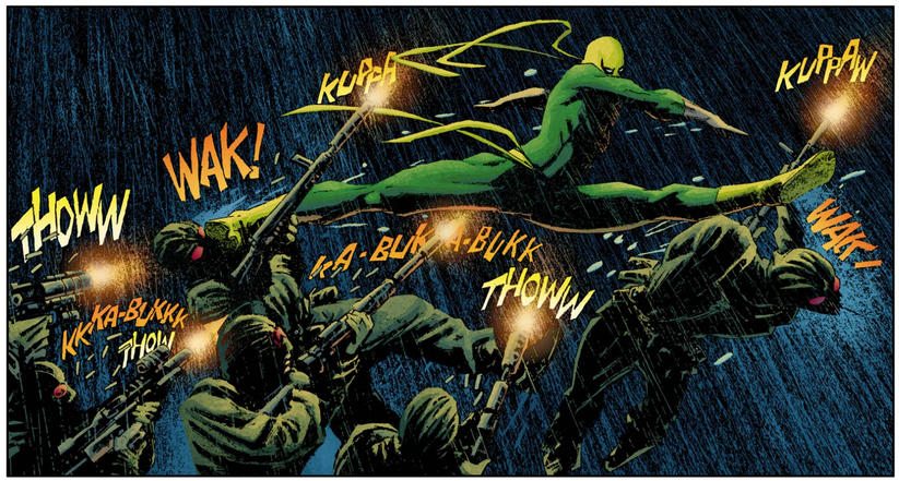 Immortal Iron Fist panel