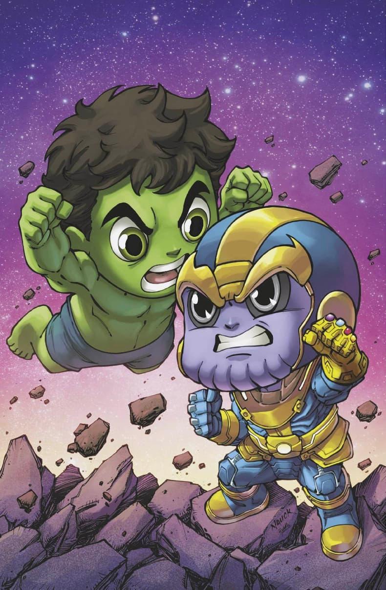 Immortal Hulk SDCC Nauck Variant