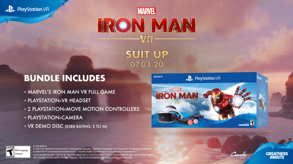 Marvel's Iron Man VR Bundle