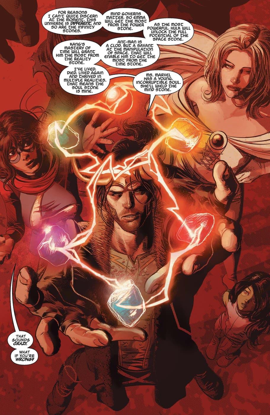 Loki assembles his Cosmic Avengers.