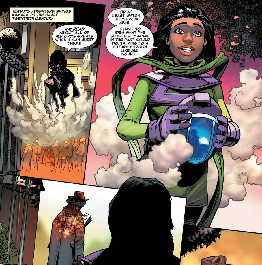The origin of Kamala Kang in INFINITY WARS: INFINITY WARPS (2018) #2.
