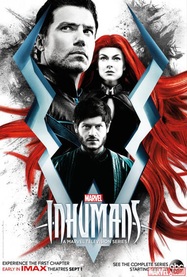 Marvel's Inhumans TV Show Poster