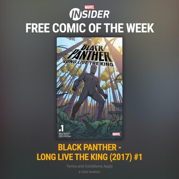 Marvel Insider BLACK PANTHER - LONG LIVE THE KING(2018) #1