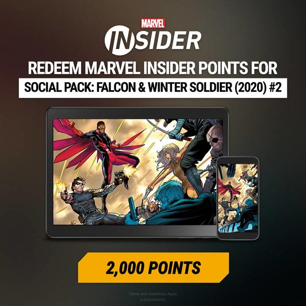 Marvel Insider FALCON & WINTER SOLDIER (2020) #2 Digital Comic