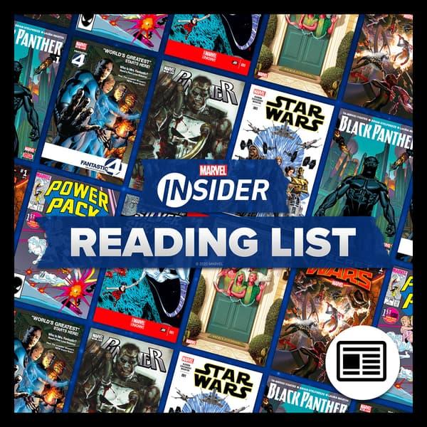 Marvel Insider Reading List