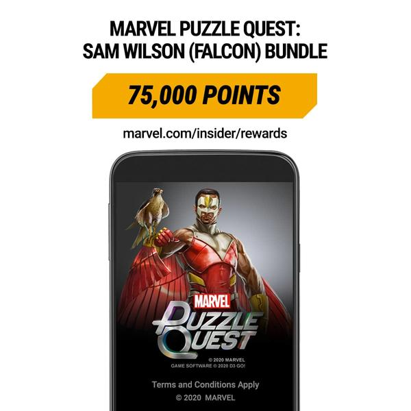 Marvel Insider Marvel Puzzle Quest: Sam Wilson (Falcon) Bundle