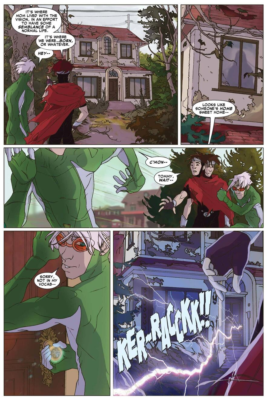 YOUNG AVENGERS PRESENTS (2008) #3
