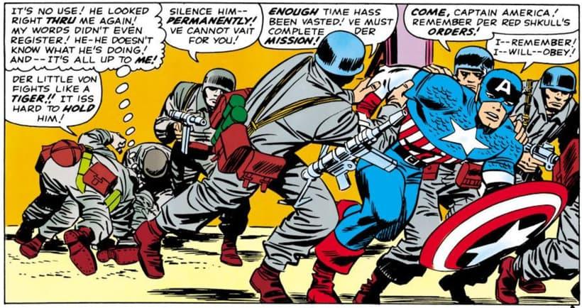 Captain America brainwashed