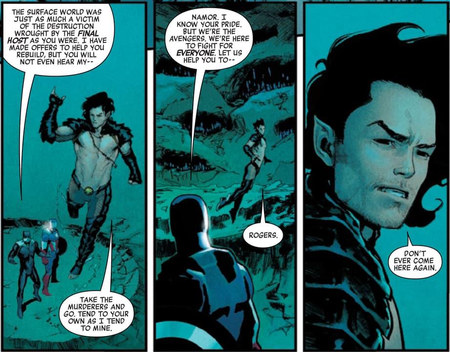 Namor vs. the Avengers