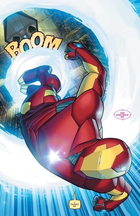 Invincible Iron Man #1 2015