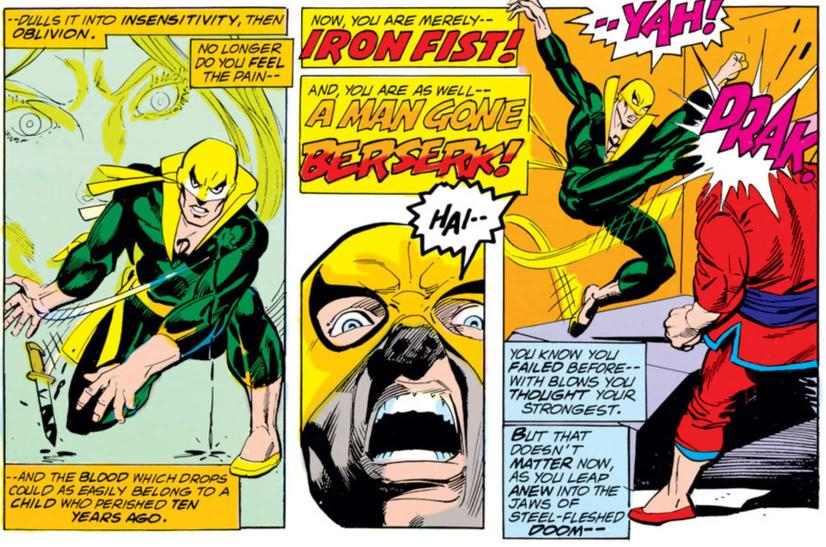 Iron Fist debuts