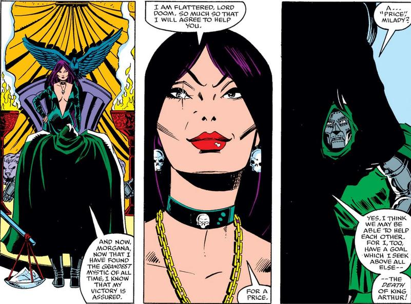 Morgan le Fay in Iron Man