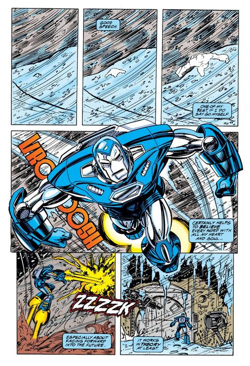 Iron Man Artic Armor