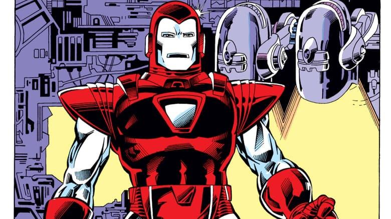 Iron Man Silver Centurion armor