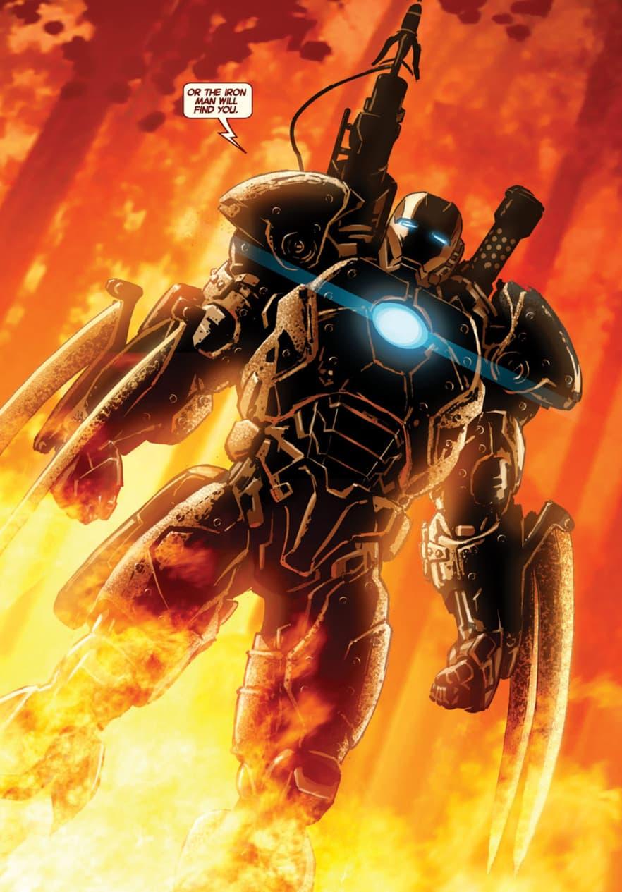 Man of Iron armor
