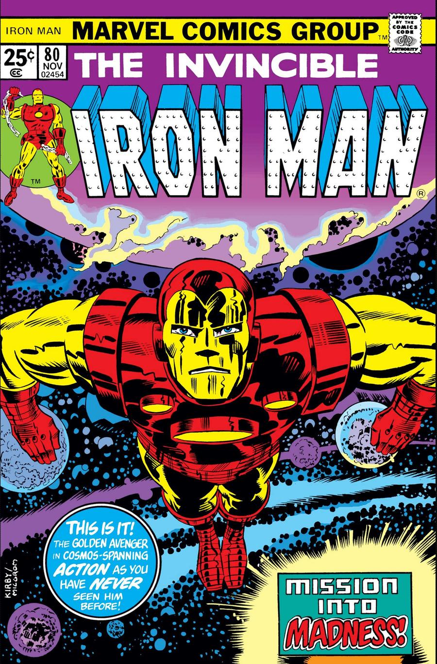 Red and Gold Iron Man Suit