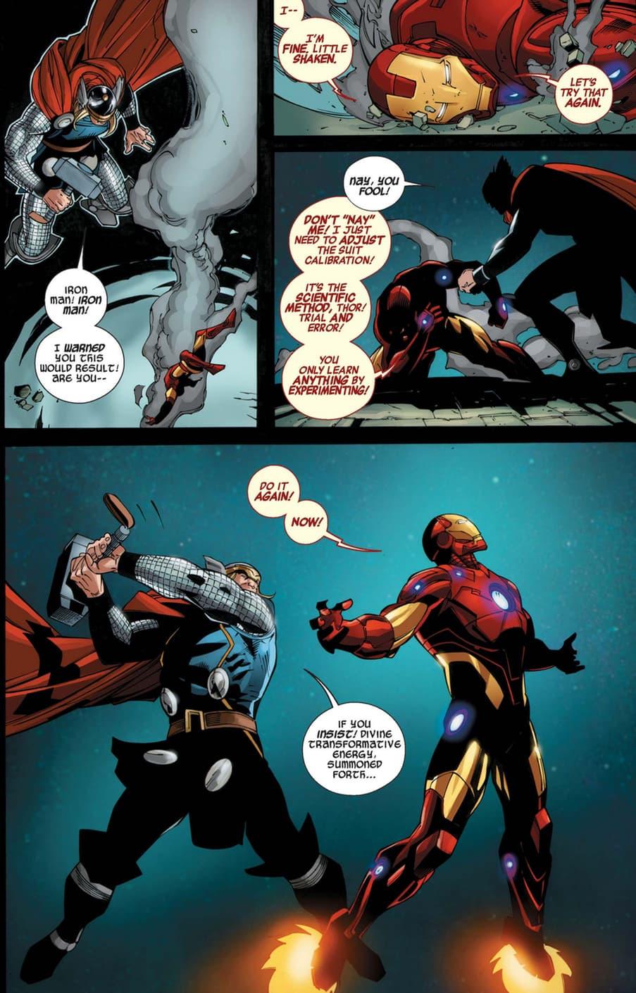 Iron Man and Thor