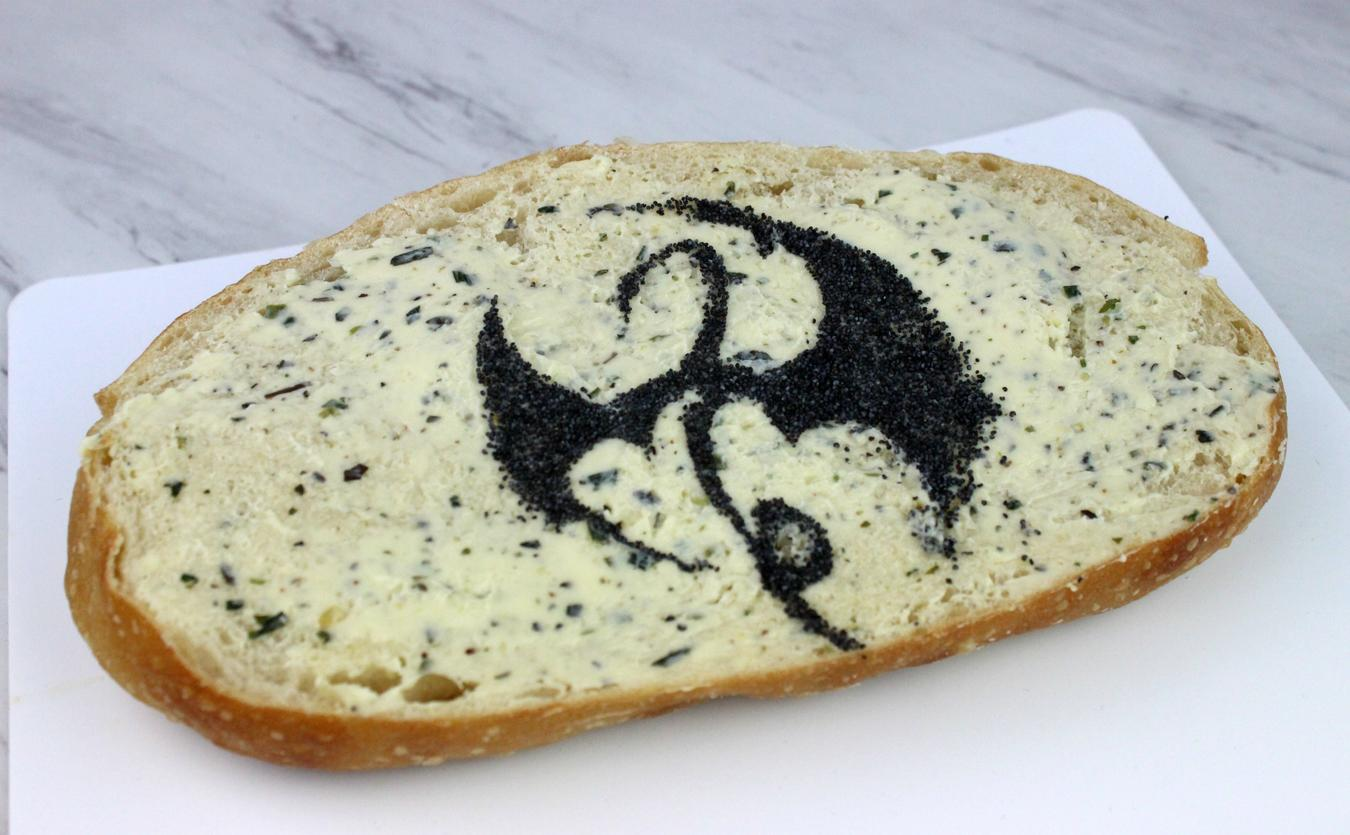 Iron Fist garlic bread