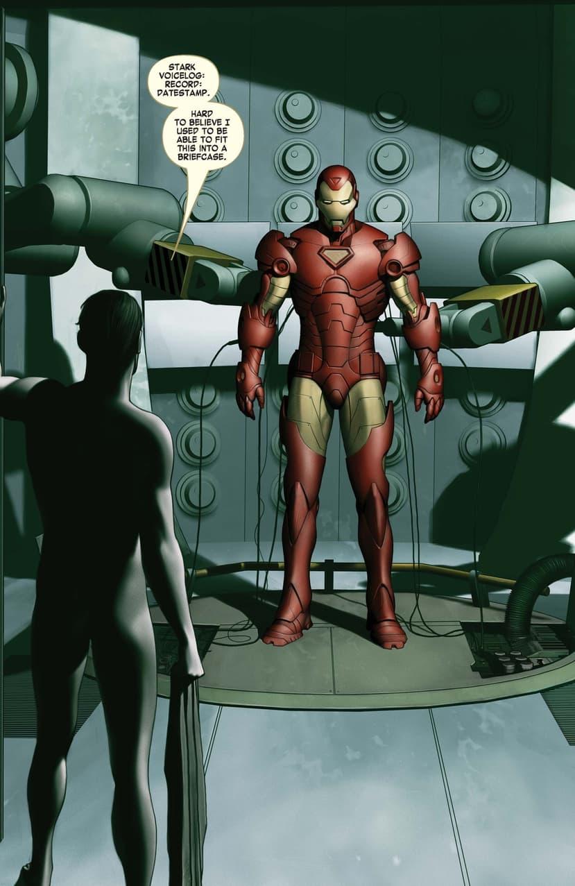 Iron Man #1 2004