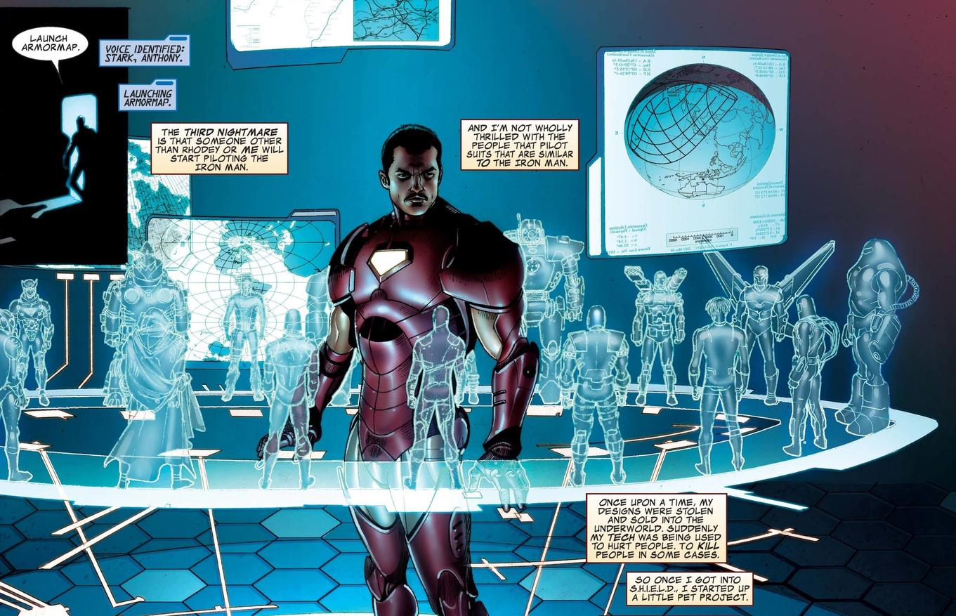Iron Man #1 2008